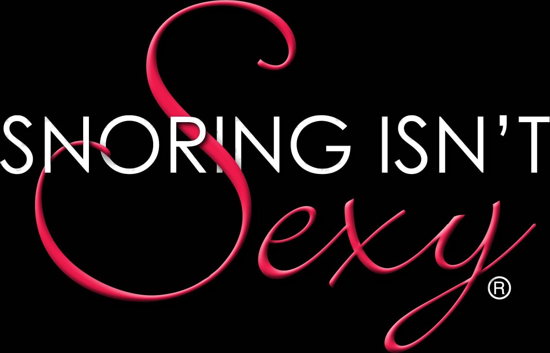 Snoring Isn't Sexy logo